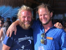 Mike Walsh, left, and Matt Sexton are partners in the oTHErside boardsports operating with locations on Grassy Key and Islamorada.