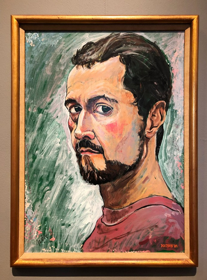 Self portrait of the artist as a young man.