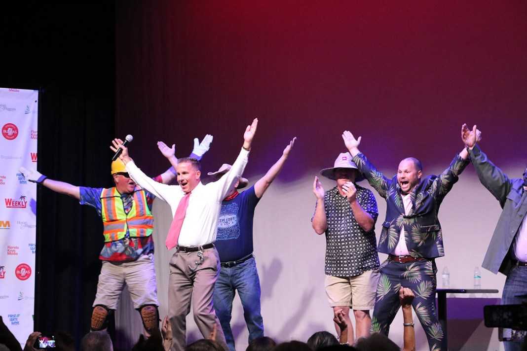 AND THE BUBBAS WINNERS ARE… - A group of people standing on a stage - Ron DeSantis