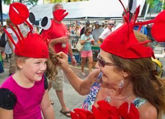 A Crustacean Celebration – Key West Lobsterfest 2019 - A group of people wearing costumes - Duval Street