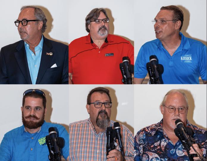 Collage of Marathon City Council Candidates