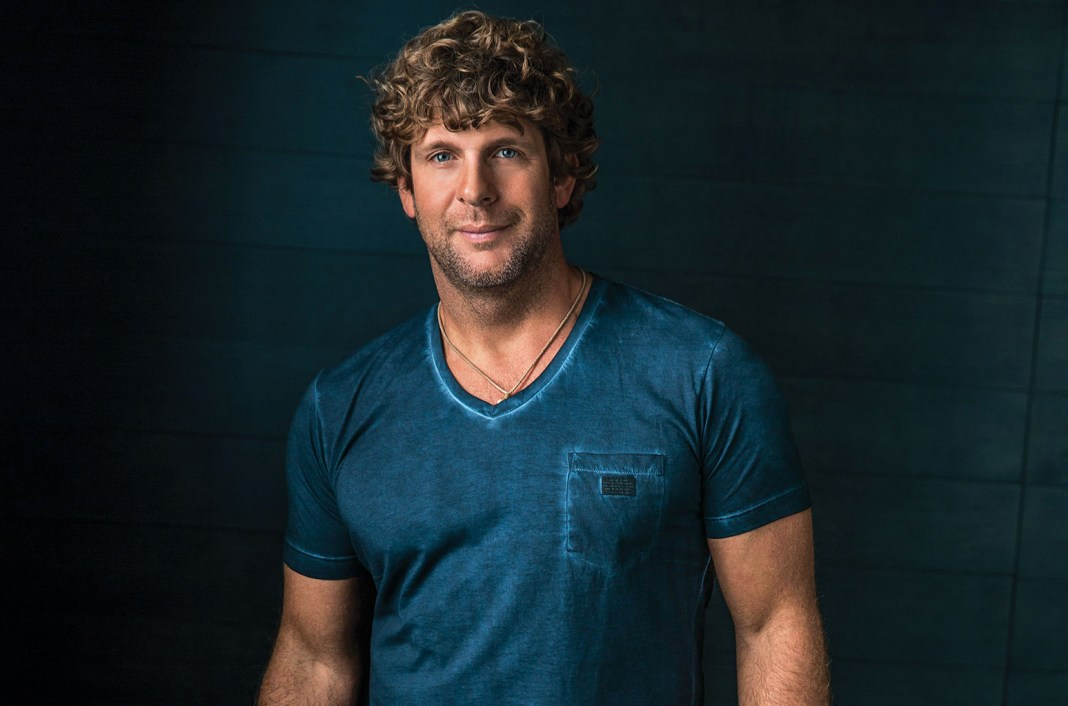 Singer with coastal roots to appear at Sunset Pier - Billy Currington wearing a blue shirt - Billy Currington