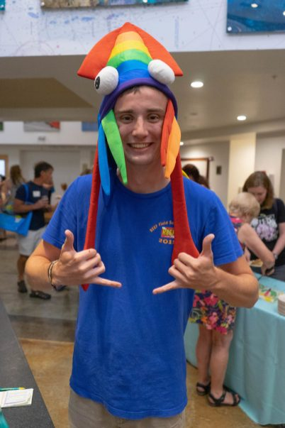 CELEBRATING CONSERVATION – REEF Fest brings education, adventure - A boy wearing a blue hat - Cosplay