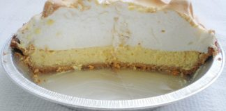 Once and for all – Key Lime Pie's New York City Origin Story Disproved - A half eaten piece of cake on a plate - Key lime pie