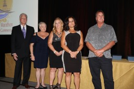 Awards, awards, awards – Marathon Chamber hosts annual celebration - A group of people posing for a photo - STX IT20 RISK.5RV NR EO