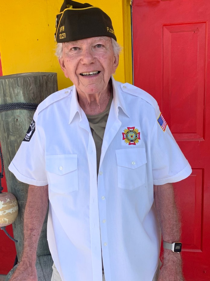 Keys Weekly honors local veterans - A man wearing a hat - T-shirt