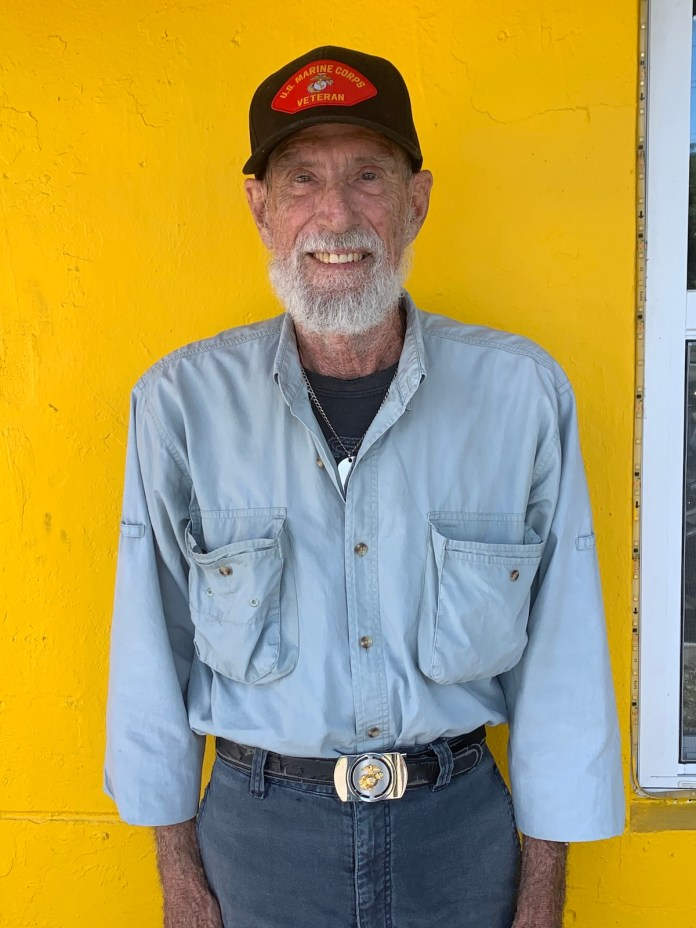Keys Weekly honors local veterans - A man wearing a yellow hat - T-shirt