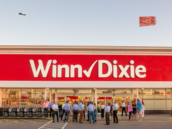A look back at the stories that shaped Marathon in 2019 - A sign in front of a crowd - Winn-Dixie