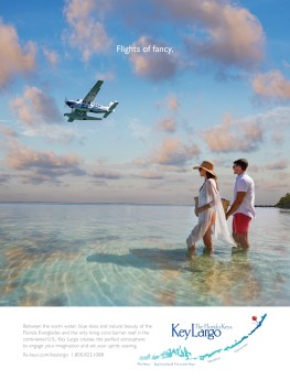 Striking 2020 ads lure various visitors to island chain - A plane flying over a body of water - Air travel
