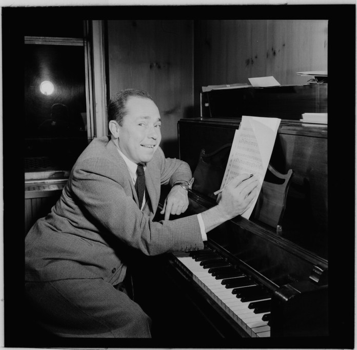 Unknown works found in Key West storage bin - A person sitting in front of a piano - Johnny Mercer