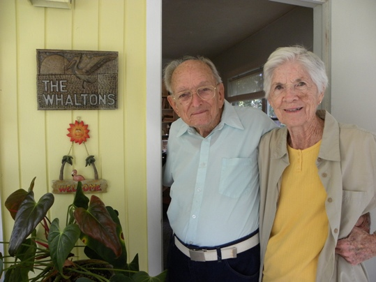 Joe and Sally Whalton, both 88 years old, enjoy, just as they have their entire married lives, doing everything together