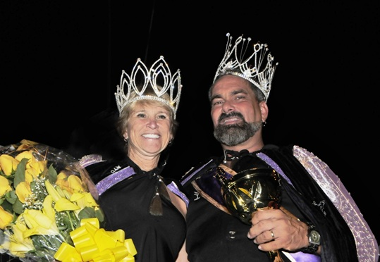 Queen Vicki Gordon and King Ralph Garcia will don their royal sashes, wield their royal scepters and let their royal caps fly and in the salty breezes all week during Fantasy Fest, which culminates this weekend. The 2009 king and queen competition raised nearly $200,000 for AIDS Help, Inc. <i data-recalc-dims=