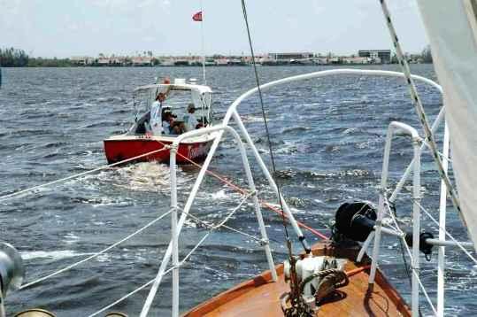 Sailboat Tow