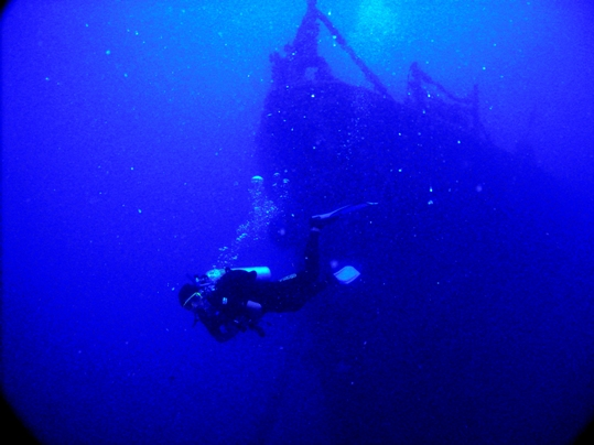 The biggest wreck in the<br /> Florida Keys, a trip to the Spiegel Grove