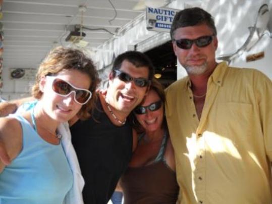 Kristin Hall, Danny Price, Daena Crossman and Jon Strauss