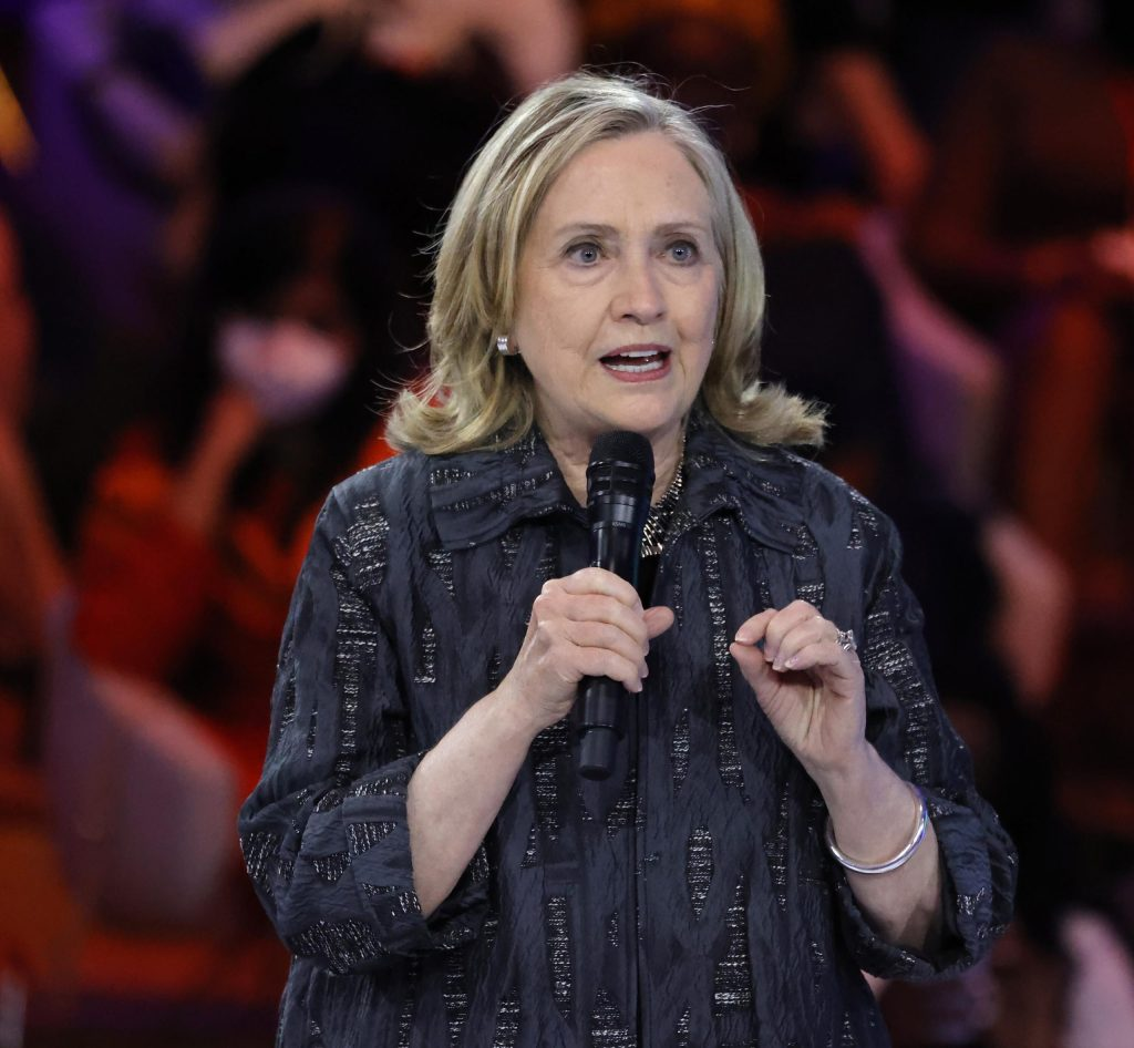 Hillary Clinton claims 'attacks on voting' are part of shift 'toward white supremacist authoritarianism'
