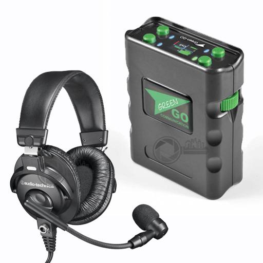 Green-Go Beltpack X digitaal intercom systeem set