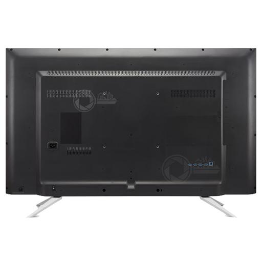 Achterzijde van de 43 inch 4K UltraHD monitor van Phillips