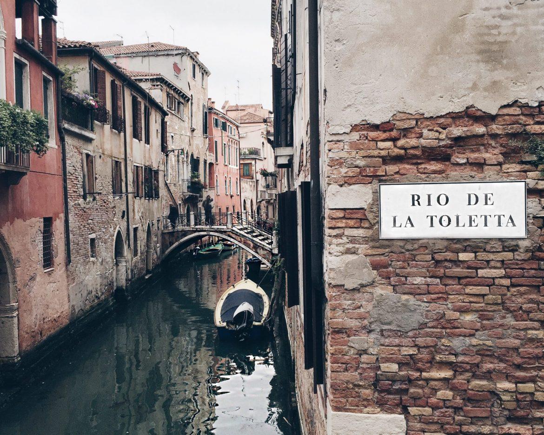 veneza rio de la toletta canal