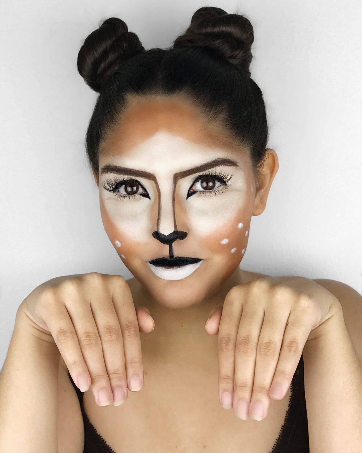 Maquiagem de Bambi - Deer Makeup