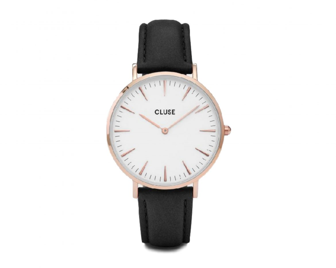 CLUSE WATCH LA BOHÈME GOLD WHITE/BLACK