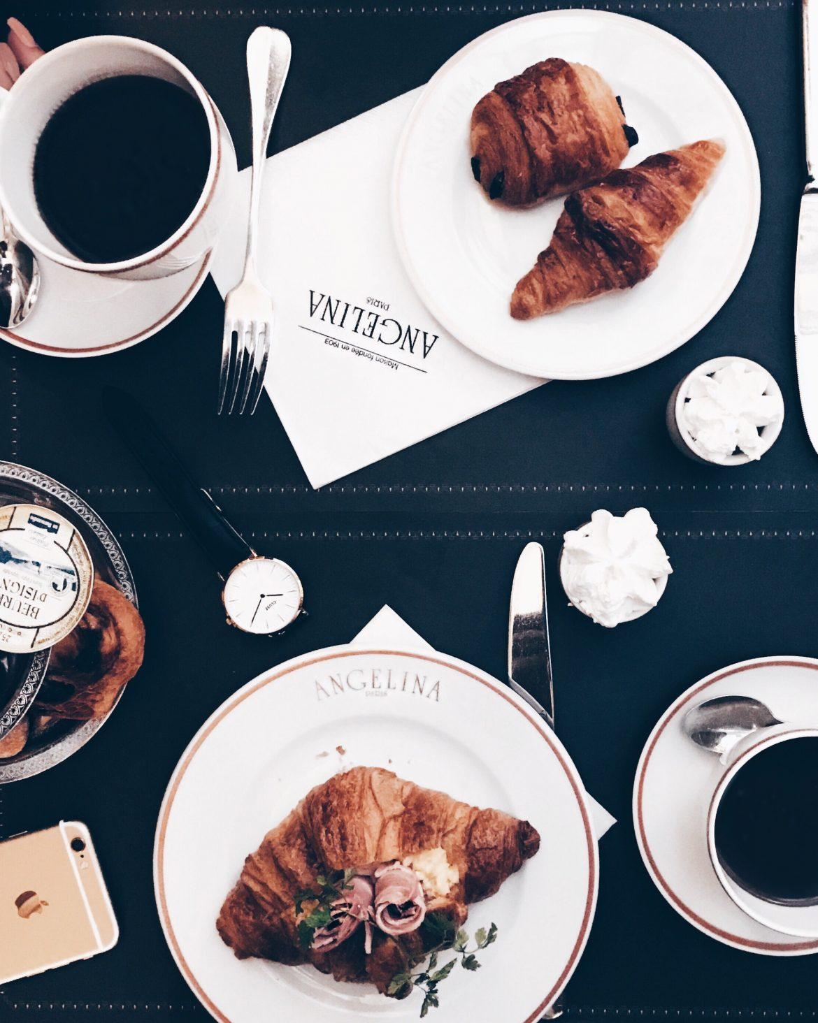 Café da manhã - Croissant - Angelina Paris - Kezia Happuck