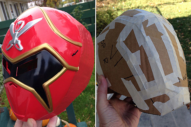 Power Rangers Helmet - Terry Morgan