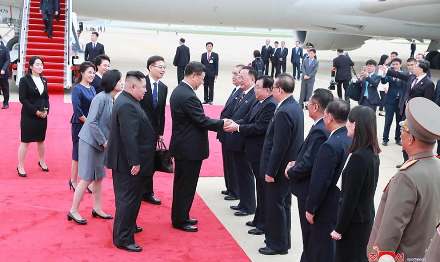 Visita del presidente chino