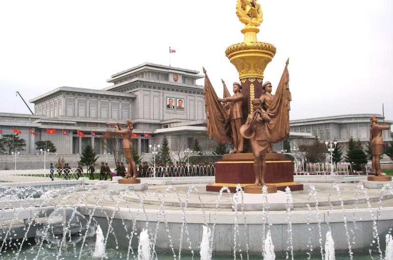 Visita al Palacio del Sol Kumsusan