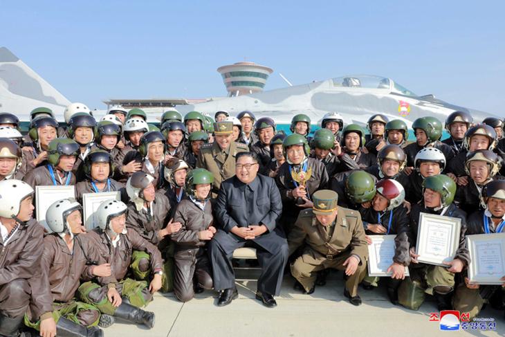 Competencia de pilotaje de combate.