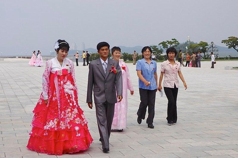 Matrimonio en la RPDC.