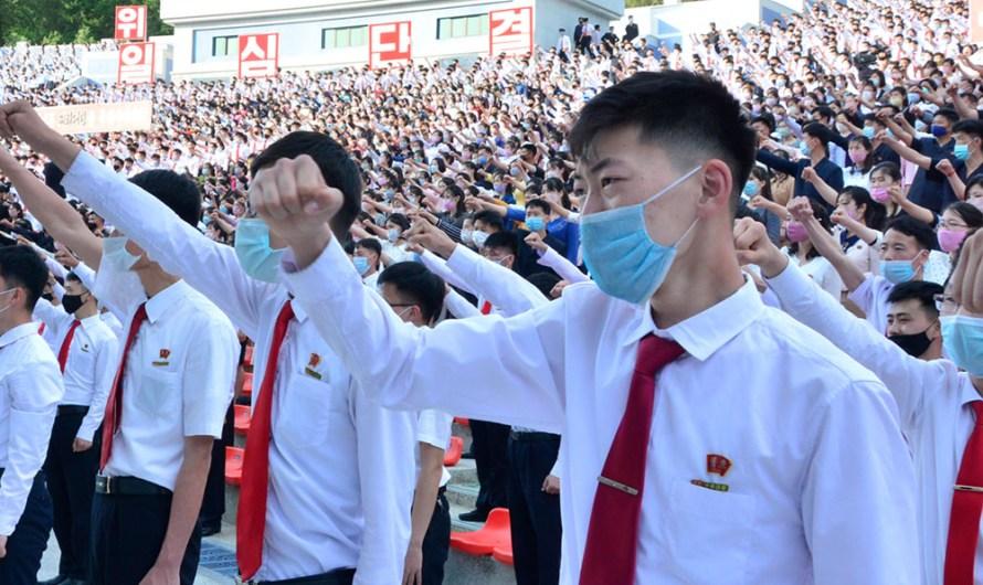 Preparación de lanzamiento de volantes al sur de Corea.