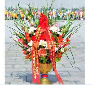 Homenaje diplomático vietnamita.