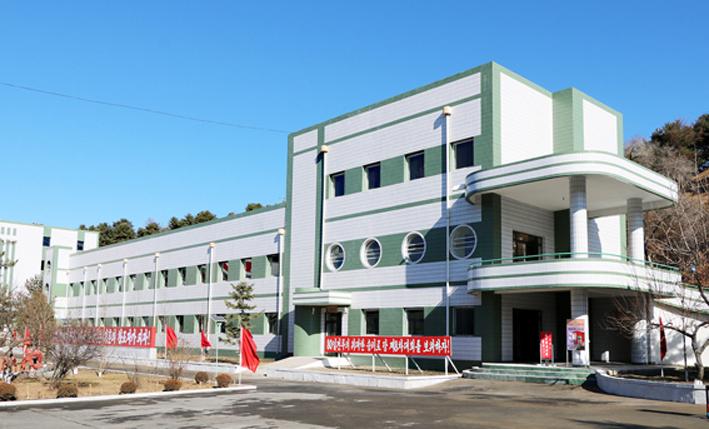 Nuevas obras en Phyong-an del Norte.
