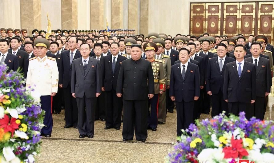 Visita del Máximo Dirigente al palacio Kumsusan