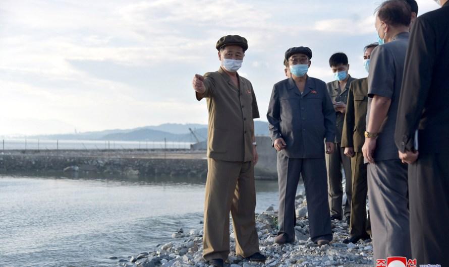 Preparativos para la construcción de fábricas en Kimhwa