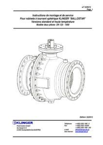 KHI DN 150 à 1000 KHWI DN 150 à 1000 (W = version vapeur)