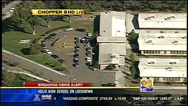 Suspect detained after threat to Helix High School  CBS