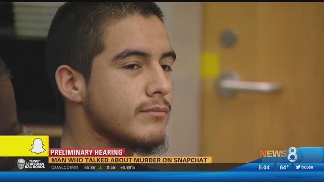 Man Who Talked About Murder On Snapchat Will Stand Trial