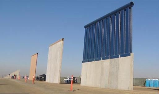 Border agents announce completion of border wall prototypes  CBS News 8  San Diego CA News Station  KFMB Channel 8