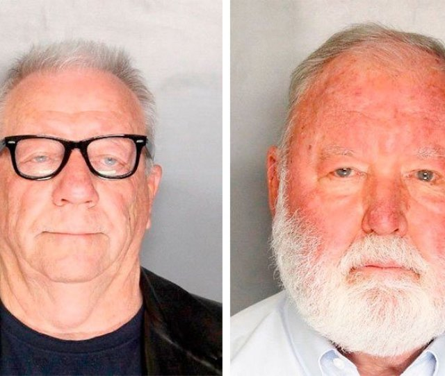 These Undated File Booking Photos Provided By The Sacramento County Sheriffs Office Shows Michael Lacey And