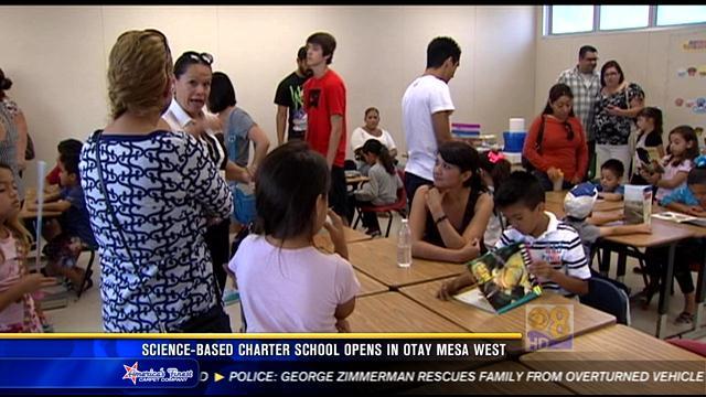 Sciencebased charter school opens in Otay Mesa West  CBS