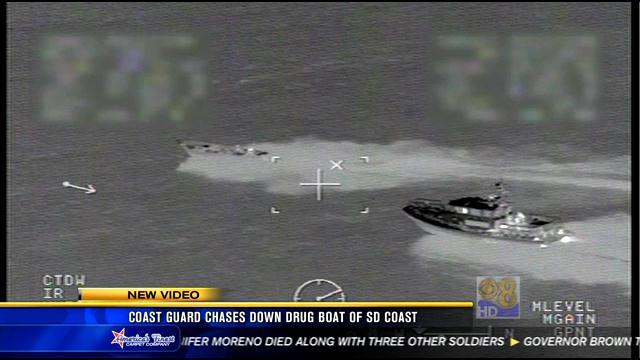 Coast Guard chase down drug boat off San Diego coast  CBS