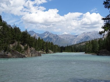 Bow River, Banff National Park, AB