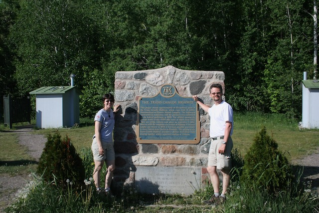 Trans Canada Highway - Half Way, ON