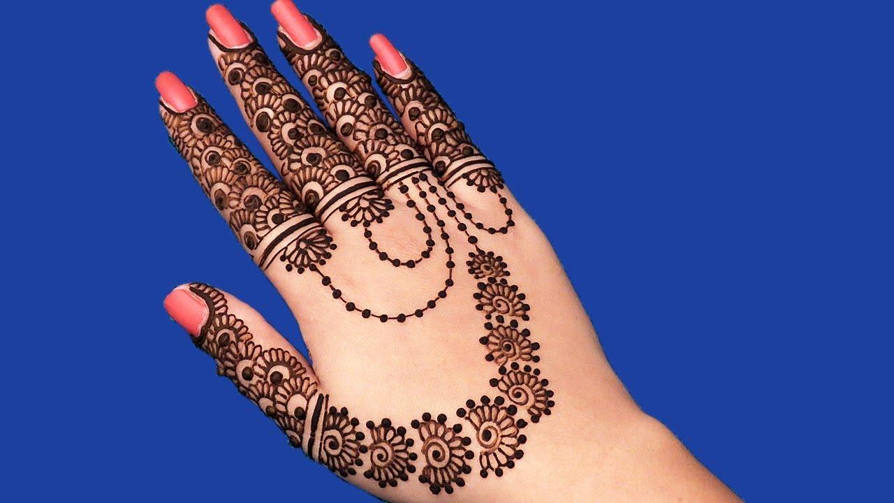 Pakistani Eid Finger Eid Ul Fitr Mehndi Design 2018