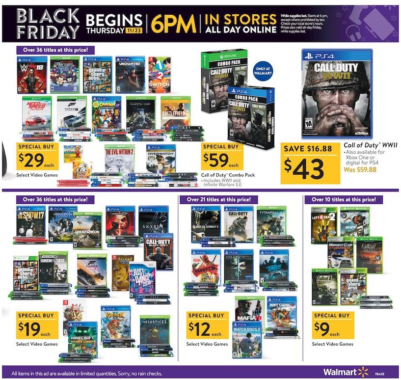 Walmart S Black Friday 2017 Ad Is Out Kfor Com Oklahoma City