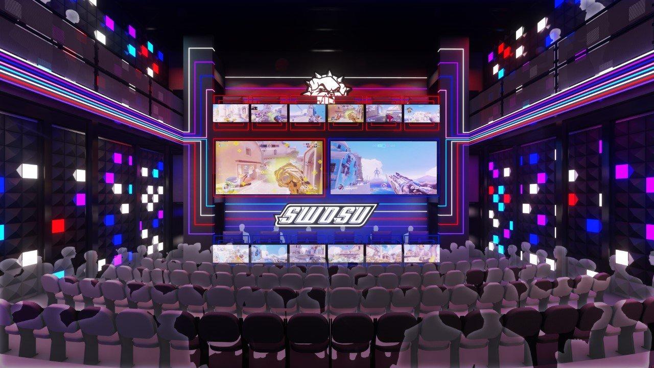 SWOSU eSports arena