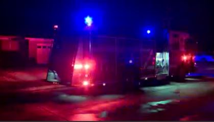 A man was treated for smoke inhalation after a house fire in N.W. Oklahoma City.