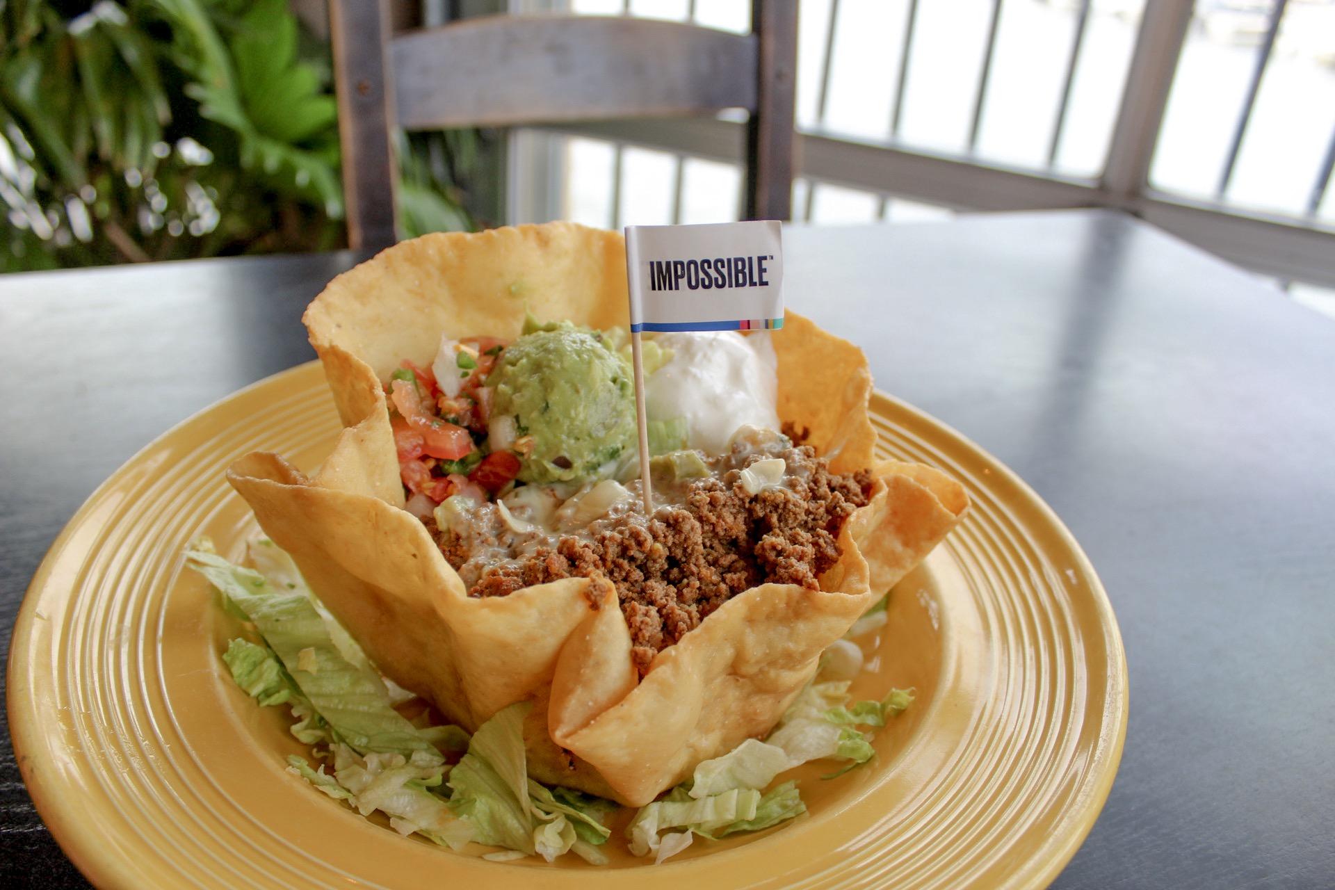 Mama Roja Impossible Taco Salad
